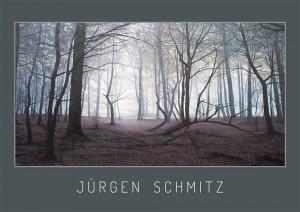 Juergen Schmitz exhibition flyer